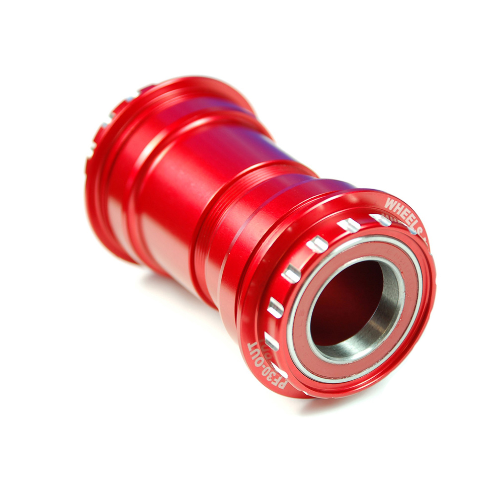 Wheels Manufacturing BB30 Outboard Angular Contact Bottom Bracket For 24mm Shimano Cranks