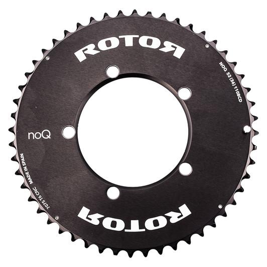 Rotor NOQ Carbon 5 Bolt Aero Chainring 110BCD