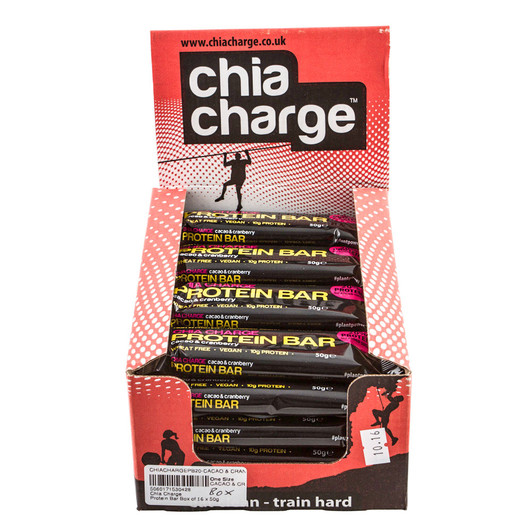 Chia Charge Protein Bar Box Of 16 X 50g Bars