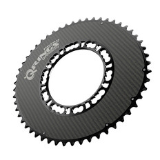 Rotor Qarbon Q-Ring Shimano 4 Bolt Aero Chainring 110BCD