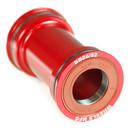 Wheels Manufacturing BB86/92 Bottom Bracket Angular Contact Bearings Shimano Compatible Red