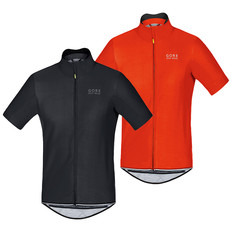 Gore Bike Wear Power Windstopper Softshell Short Sleeve Jersey