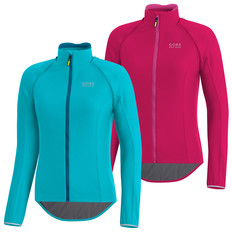 Gore Bike Wear POWER Windstopper Zip-Off Long Sleeve Womens Jersey