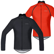 Gore Bike Wear POWER Windstopper Softshell Zip-Off Long Sleeve Jersey