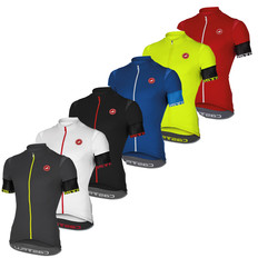 Castelli Entrata 2 Full-Zip Short Sleeve Jersey