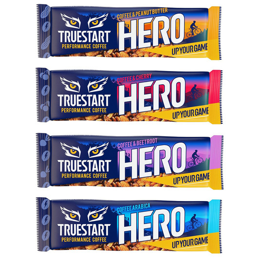TrueStart Hero Bar Coffee Bar Box Of 12 X 43g