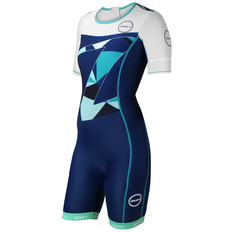 Zone3 Lava Short Sleeve Aero Womens Trisuit