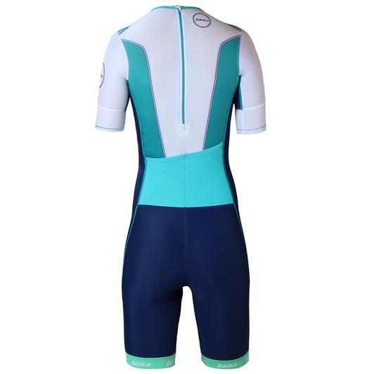 Zone3 Lava Short Sleeve Aero Womens Trisuit