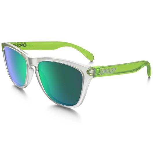 1326f6d625d ... spain oakley frogskin sunglasses with jade iridium lens 10c70 53ff1