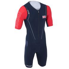 Huub Patriot Long Course Short Sleeved Trisuit GB Edition