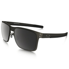 Oakley Holbrook Metal Sunglasses with Prizm Black Polarised Lens