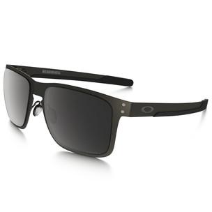 Oakley Holbrook Metal Sunglasses With Prizm Black Polarised Lens