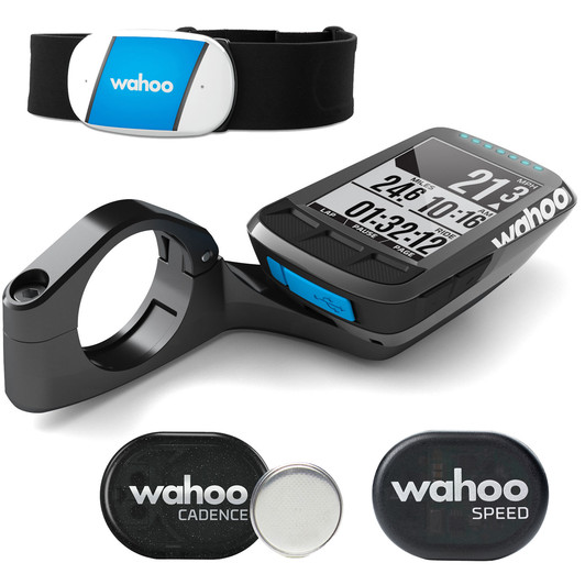 Wahoo ELEMNT Bolt Cycling GPS Computer Bundle
