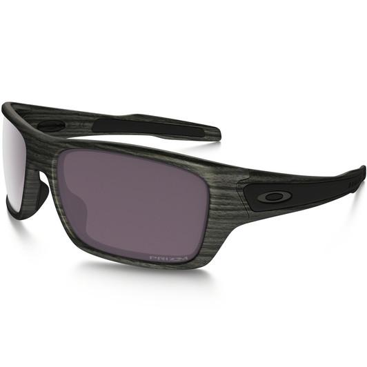 28abf109936d Oakley Turbine Woodgrain Sunglasses With Prizm Daily Polarised Lens ...