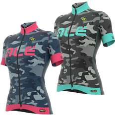Ale PRR Camo Womens Short Sleeve Jersey