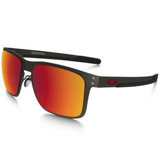 Oakley Holbrook Metal Sunglasses with Torch Iridium Polarised Lens