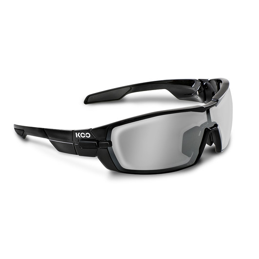 KOO Open Performance Sunglasses With Smoke Mirror Lens