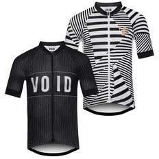 VOID Print Stripe Short Sleeve Jersey