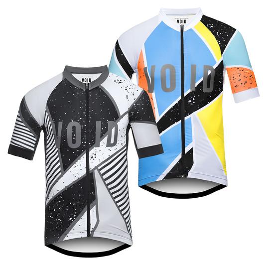 VOID Print Cubist Short Sleeve Jersey
