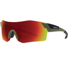 Smith Pivlock Arena Sunglasses with ChromaPop Red Mirror Lens