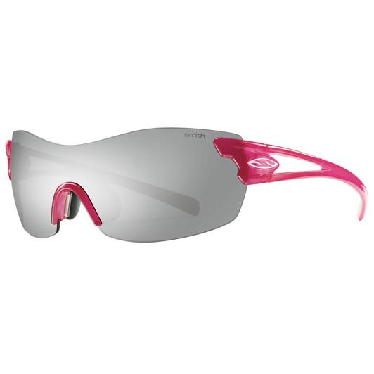 Smith Pivlock Asana Womens Sunglasses With Ignitor Flash Silver Lens