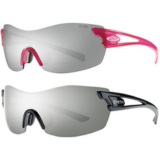 Smith Pivlock Asana Womens Sunglasses with Ignitor Flash Silver Lens