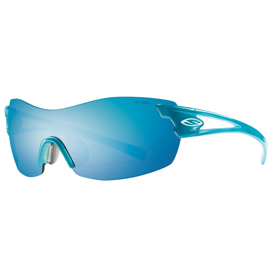 Smith Pivlock Asana Womens Sunglasses With Ignitor Blue Mirror Lens