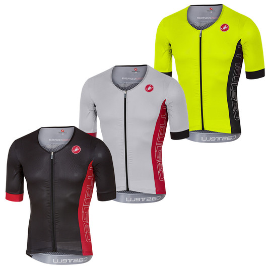 Castelli Free Speed Race Short Sleeve Tri Jersey