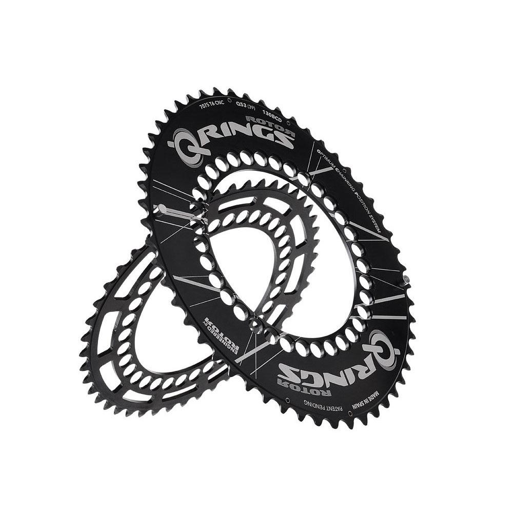 Rotor Aero Q Chainring Set (5 Arm Crank)