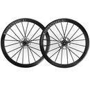 Lightweight Meilenstein Carbon Clincher Disc Wheelset Schwarz Edition