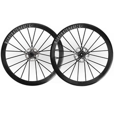 Lightweight Meilenstein Carbon Clincher Disc Wheelset Schwarz Edition