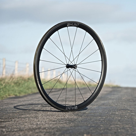 Hunt 38Carbon Wide Aero Carbon Clincher Wheelset