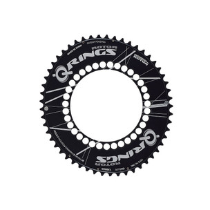 Rotor Q Ring Outer Aero Chainring 130BCD