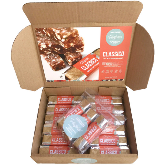 Veloforte Natural Energy Bar Box Of 15x70g