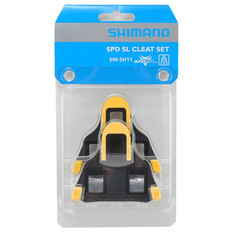 Shimano SPD SL SH11 Yellow Pedal Cleats