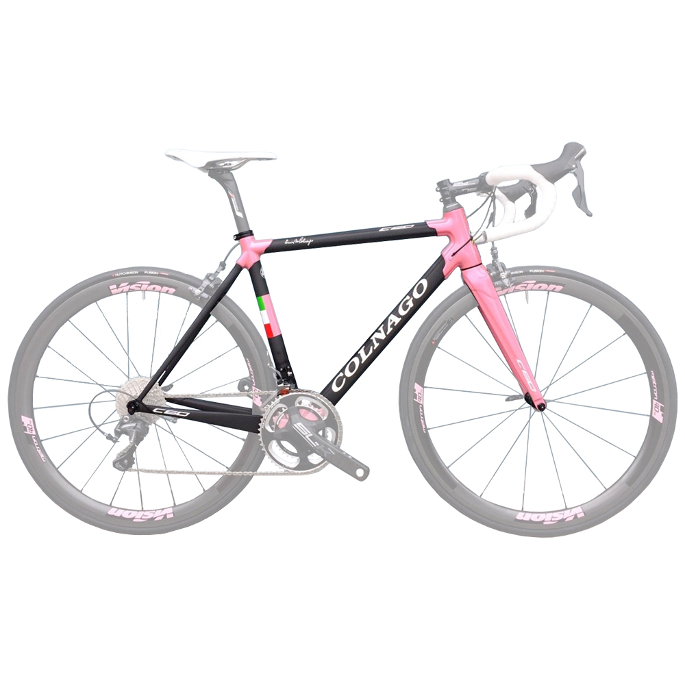 Colnago Limited Edition Giro D'Italia Dual Routed C60 Frameset