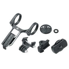 Topeak Ridecase Center Mount + Sports Camera & Gear Adapters