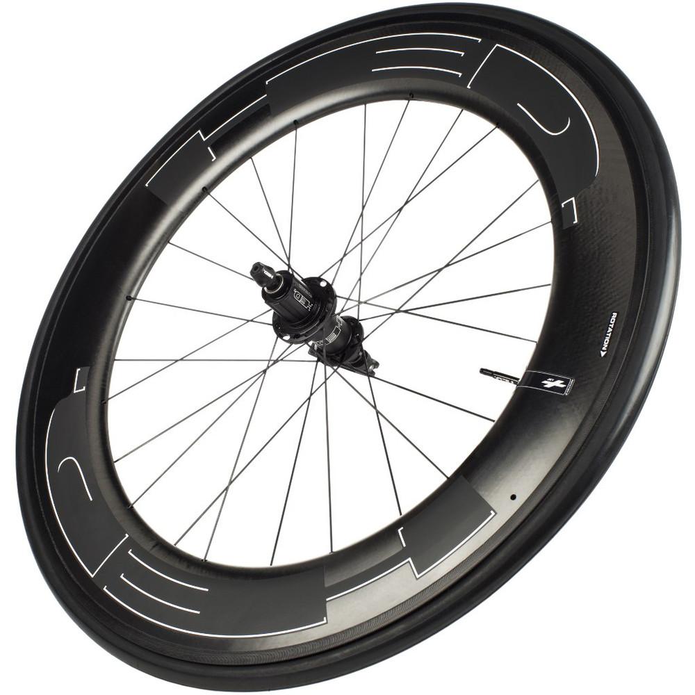HED Jet 9 Black Standard Rear Wheel