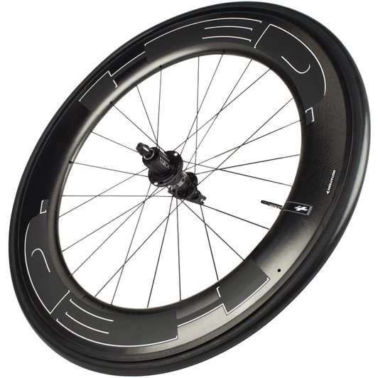 HED Jet 9 Black Standard Rear Wheel