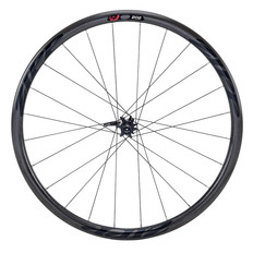 Zipp 202 Firecrest Carbon Clincher Disc Brake Front Wheel Black Decal 2017