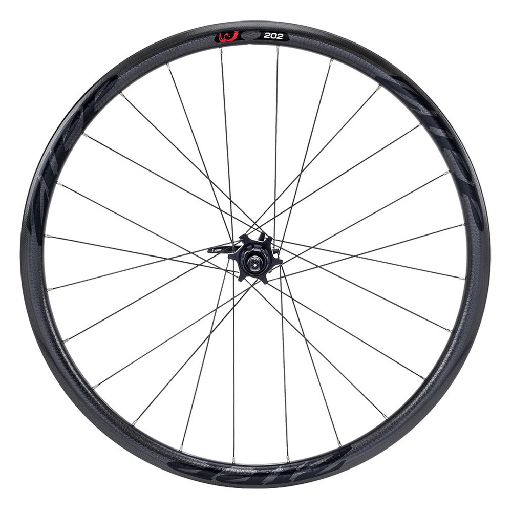 Zipp 202 Firecrest Carbon Clincher Disc Brake Rear Wheel Black Decal 2019