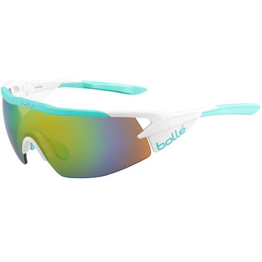 Bolle Aeromax Sunglasses With Modulator Brown Emerald Lens