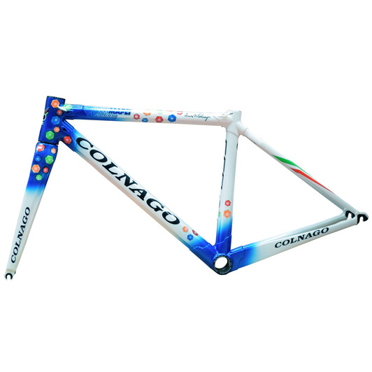 Colnago C60 Limited Edition Mapei Dual Routed Frameset (Sloping Geometry)