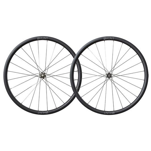 Hunt 30Carbon Aero Disc Carbon Clincher Wheelset
