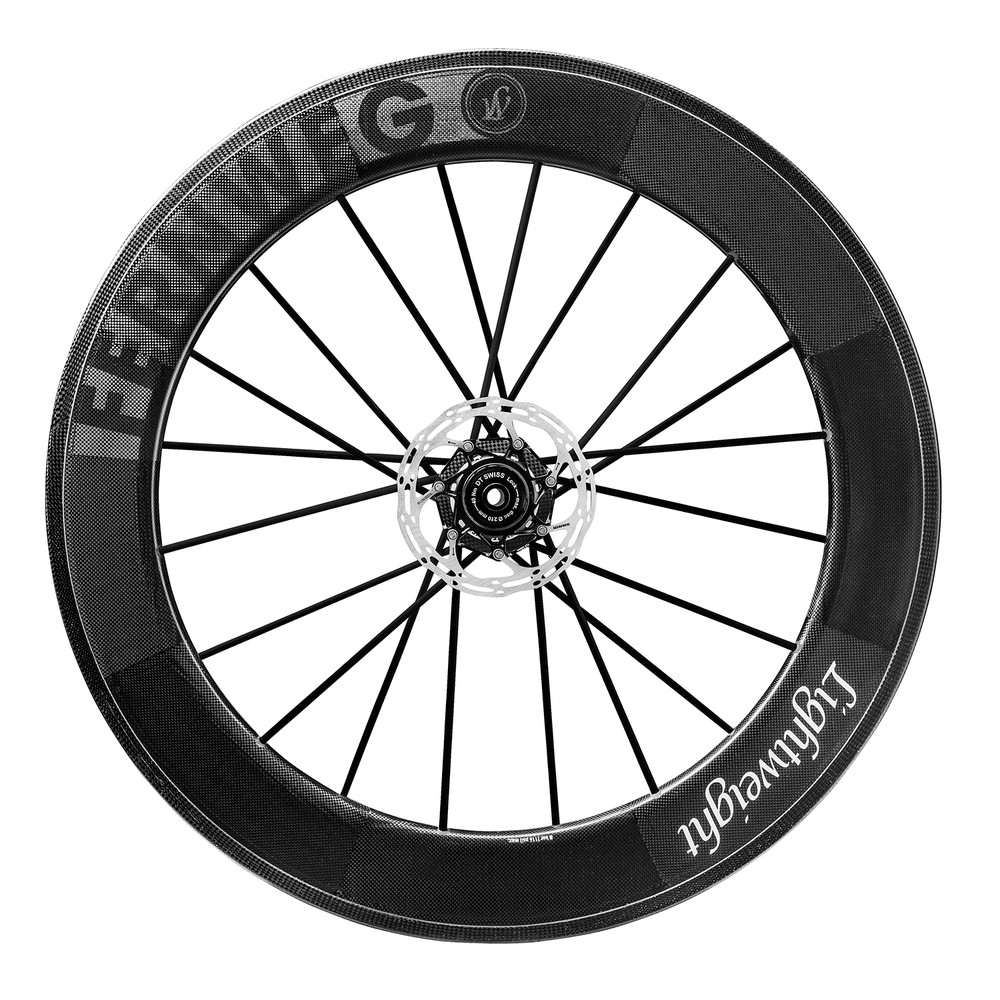 Lightweight Fernweg 85 Tubular Carbon Front Wheel