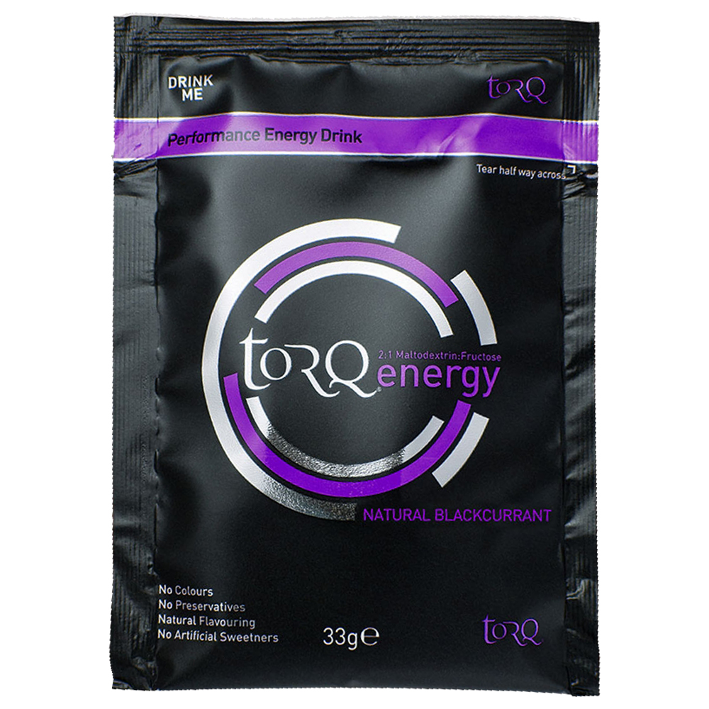 TORQ Energy Drink Single Serve Sachet Box Of 15x33g