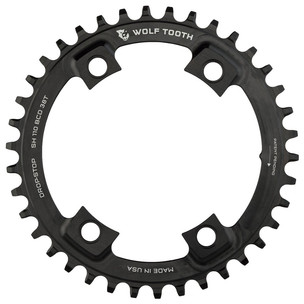 Wolf Tooth Components 110 BCD Asymmetric 4 Bolt Chainring - Shimano