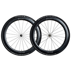 Hunt 50Carbon Wide Aero Carbon Clincher Wheelset