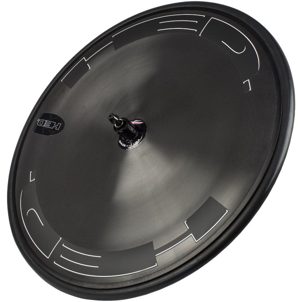 HED Jet Black Clincher Disc Wheel