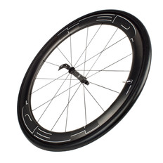 HED Jet 6 Black Front Clincher Wheel